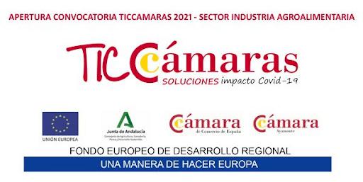 Logo TICcamaras sector agroindustrial.